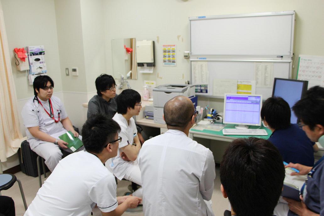 研修医主催の症例検討会1