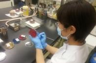 微生物検査室紹介写真