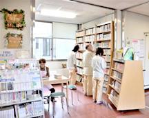 患者図書館写真